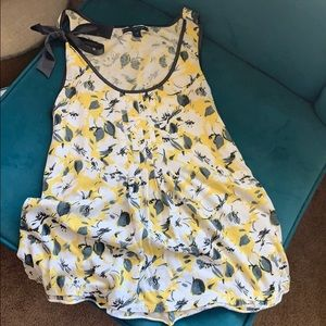 Floral American Eagle tank
